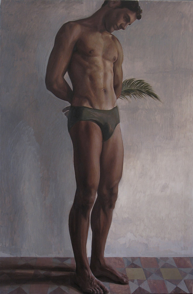 2009 - Figura 100x70cm Oil Canvas
