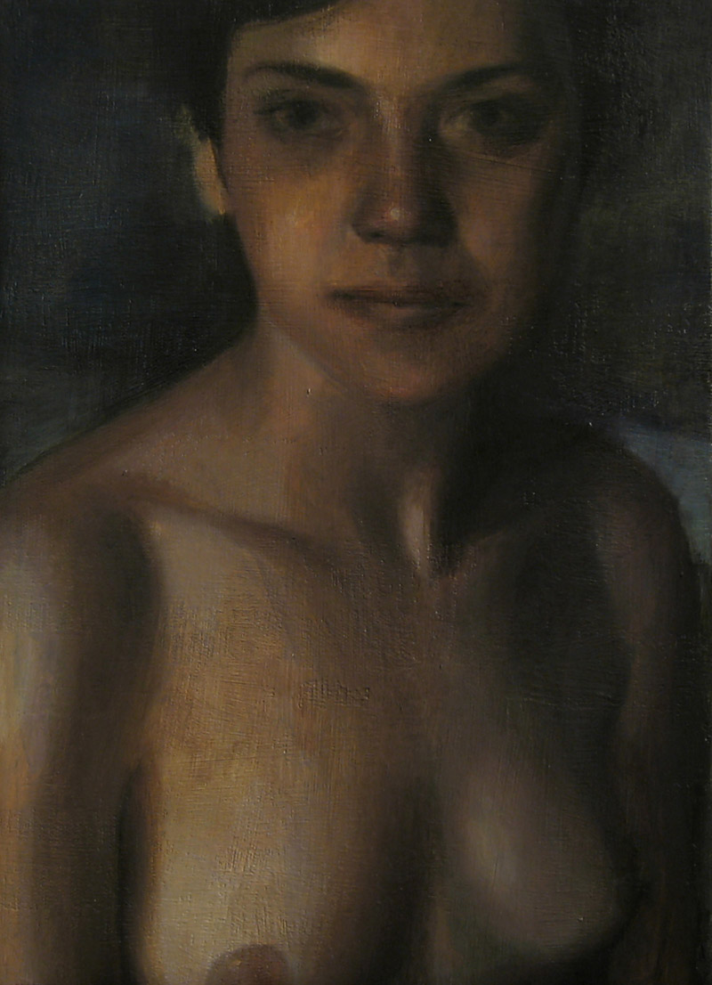 2005 - Maria 35X25cm Oil Canvas